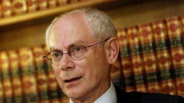 Le président de l'Union européenne, Herman von Rompuy, le 7 septembre 2012 à Athènes