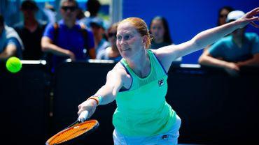 """Van Uytvanck: """"Je ne suis qu'un être humain et il y a pire que de perdre un match de tennis"""""""