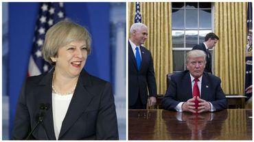 La rencontre entre la Première ministre britannique et Donald Trump est scrutée à la loupe par la communauté internationale.