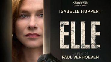 """""""Elle"""" de Paul Verhoeven était sur la Croisette en mai dernier"""