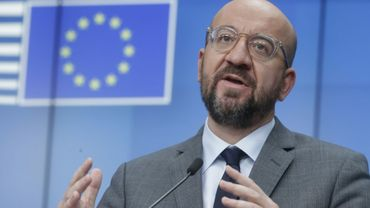 Le président du Conseil européen, Charles Michel, à Bruxelles le 21 janvier 2021