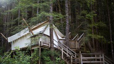 Glamping, le camping glamour, une tendance qui se développe partout en Europe.