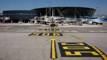 Le terminal 1 de l'aéroport international de Nice Côte d'Azur le 25 juillet 2019