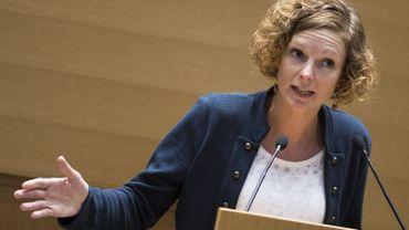 La ministre de l'Education, Marie-Martine Schyns