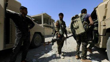 Des combattants des forces démocratiques syriennes (FDS) à Raqa, le 4 septembre 2017