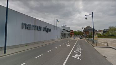 Le site de Namur Expo.