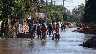 Paraguay: la capitale Asuncion inondée, 40 000 personnes évacuées