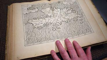 Une des 18 cartes présentes dans l'atlas.