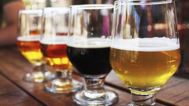 Nos bières belges, dont la qualité est vantée dans les pages d'un magazine américain.