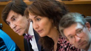 Pierre-Yves Dermagne, en avant-plan, promet au nom du gouvernement l'envoi d'un commissaire chez Publifin-Nethys pour faire la lumière sur la vente de Voo.