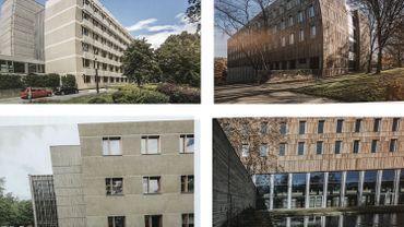 Dans la catégorie des projets publics, la rénovation brutaliste des instituts de botanique, de physique et de chimie de l'université