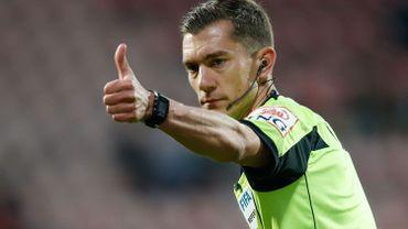 L'Union belge a désigné sept arbitres pour la FIFA