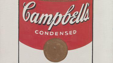 """""""Campbell's Soup Cans"""" (détail), 1962"""