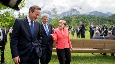 Le G7 inflexible avec Moscou et uni face au terrorisme au Château d'Elmau