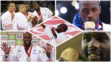 Teddy Riner, double champion olympique et décuple champion du monde