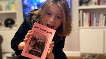 A 10 ans il lance un fanzine sur le punk et fait un véritable carton