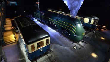 """Alexandre Obolensky et François Schuiten avaient collaboré pour la scénographie du musée """"Train World"""" à Schaerbeek"""