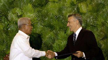 Les Philippines et les Etats-Unis signent un accord de défense