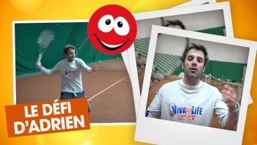 Le défi d'Adrien Devyver : une soirée de tennis au profit de Viva For Life