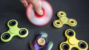 Un million de hand spinners bloqués à la douane belge