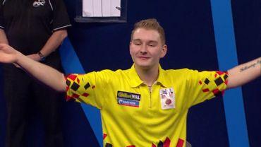 Dimitri Van den Bergh éliminé en quarts de finale au mondial de darts