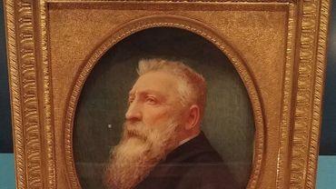 À Madrid, un portrait de Léopold II était en réalité... celui de Rodin