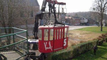 Huy: feu vert de l'Agence wallonne du Patrimoine pour le téléphérique