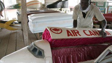 """Ghana: les cercueils """"fantaisie"""" ont la cote"""