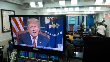 Donald Trump a fait une allocution à la télévision
