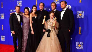 """Quentin Tarantino a été récompensé par le prix de la """"meilleure comédie"""", ainsi que celui du scénario pour son film, véritable ode au Hollywood des années 1960 et au cinéma de son enfance."""