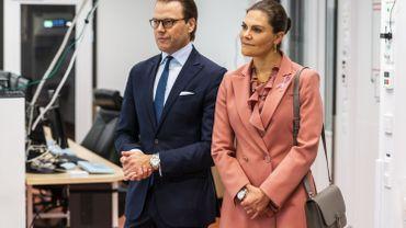 Suède: la princesse héritière Victoria et son mari positifs au Covid-19