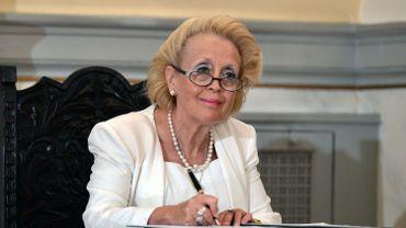 La Première ministre grecque par intérim Vassiliki Thanou a constitué son équipe de transition vendredi.
