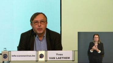 Yves Van Laethem, porte-parole interfédéral.