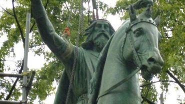 Charlemagne de retour au bvd d'Avroy
