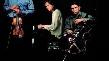 Les frères Capuçon avec le pianiste Braley
