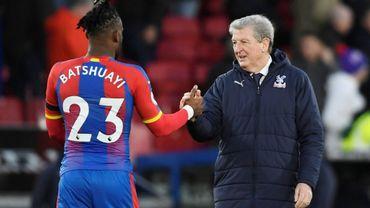 Batshuayi et Roy Hodgson