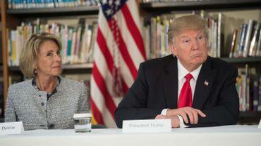 La secrétaire d'Etat du président Trump ne fait de loin pas l'unanimité. Même au sein de son propre camp.