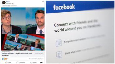 Ne vous faites pas avoir: sur Facebook, des pubs frauduleuses utilisent l'image de personnalités de la RTBF