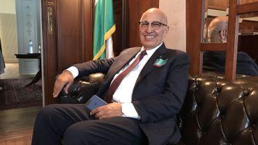 """Nabil Shaath, conseiller diplomatique du président palestinien: """"nous devrons suivre le modèle américain ou belge""""."""