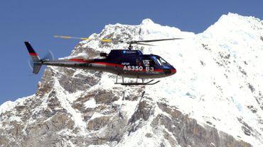 Un Eurocopter AS350 semblable à celui qui s'est écrasé à New York.
