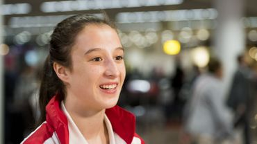 Nina Derwael qualifiée pour deux finales à l'Euro de gymnastique