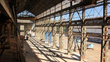 Une ancienne halle industrielle à réhabiliter, avec du commerce, du logement, et... du cinéma, peut-être