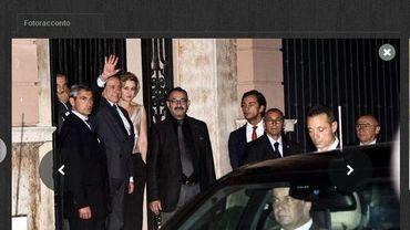 Discrète visite nocturne de Vladimir Pourtine chez Silvio Berlusconi