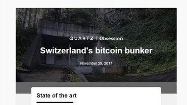 Suisse : un bunker à bitcoins creusé dans la montagne
