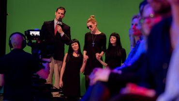 James Deano avec Laeticia Hallyday et ses filles