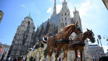L'église Saint-Stéphane, le 3 septembre 2019 à Vienne, en Autriche
