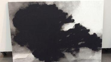 Arbre d'Alexandre Hollan à la galerie La Forest Divonne