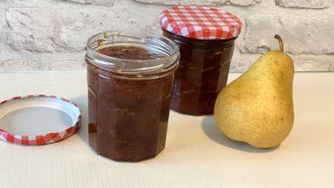 La Cuisine de Leslie - Confiture de poires