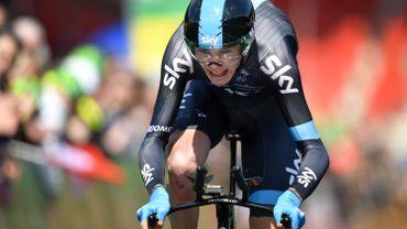Chris Froome remporte le prologue du Dauphiné
