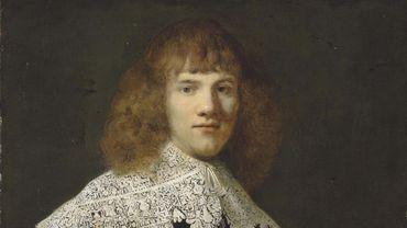 """Datant d'environ 1634, le tableau de Rembrandt """"Portrait d'un jeune homme"""" était jusqu'alors inconnu"""